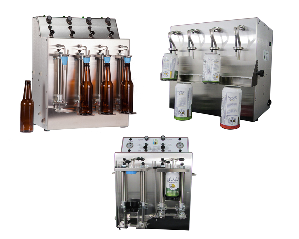 XpressFill Affordable Bottle and Can Fillers for Wine, Beer, Spirits